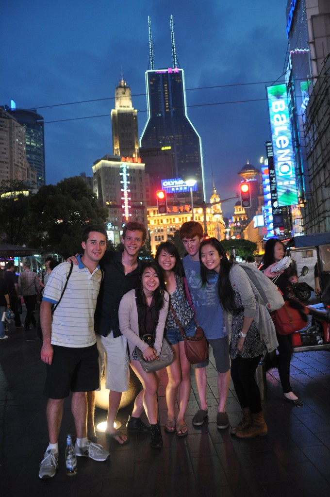 Night out at Nanjing Lu and the Bund