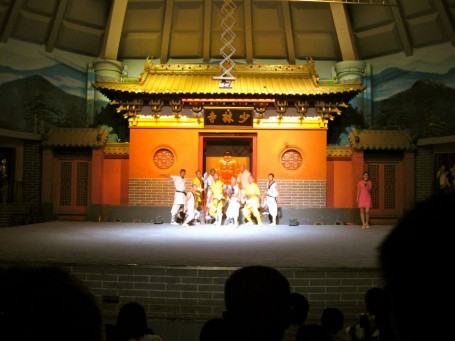 Kung Fu show at Shaolin Temple