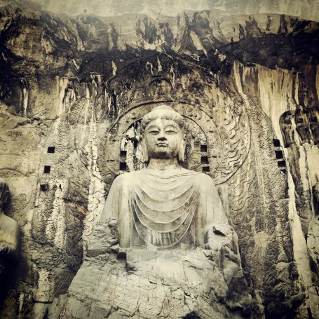 Largest Buddha at Longmen Grottoes
