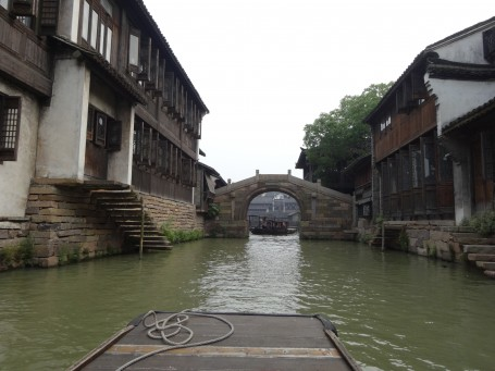 A view of Wuzhen from the canals.