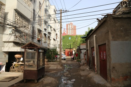 A sample side-street in Kaifeng within one mile of our hotel.