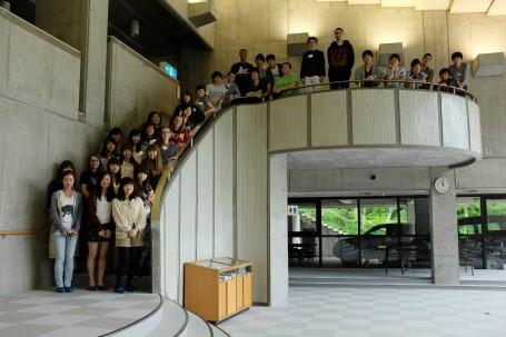 Attendees of the 2013 GEA Yamanaka Retreat in the main seminar house