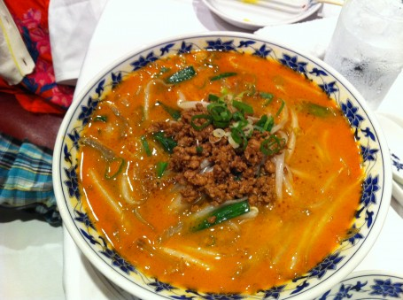 Spicy dandan noodles
