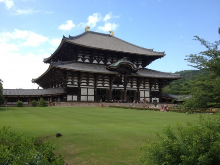 Todaiji Temple in Nara.