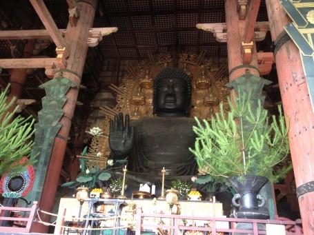 Big Buddha statue (Daibutsu).