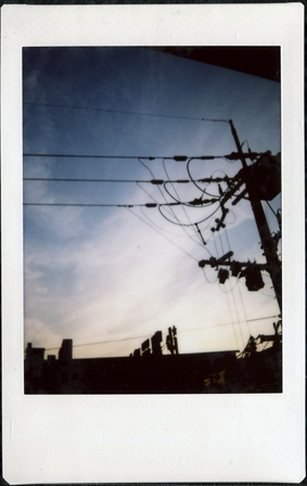 Kyoto Sky (polaroid)