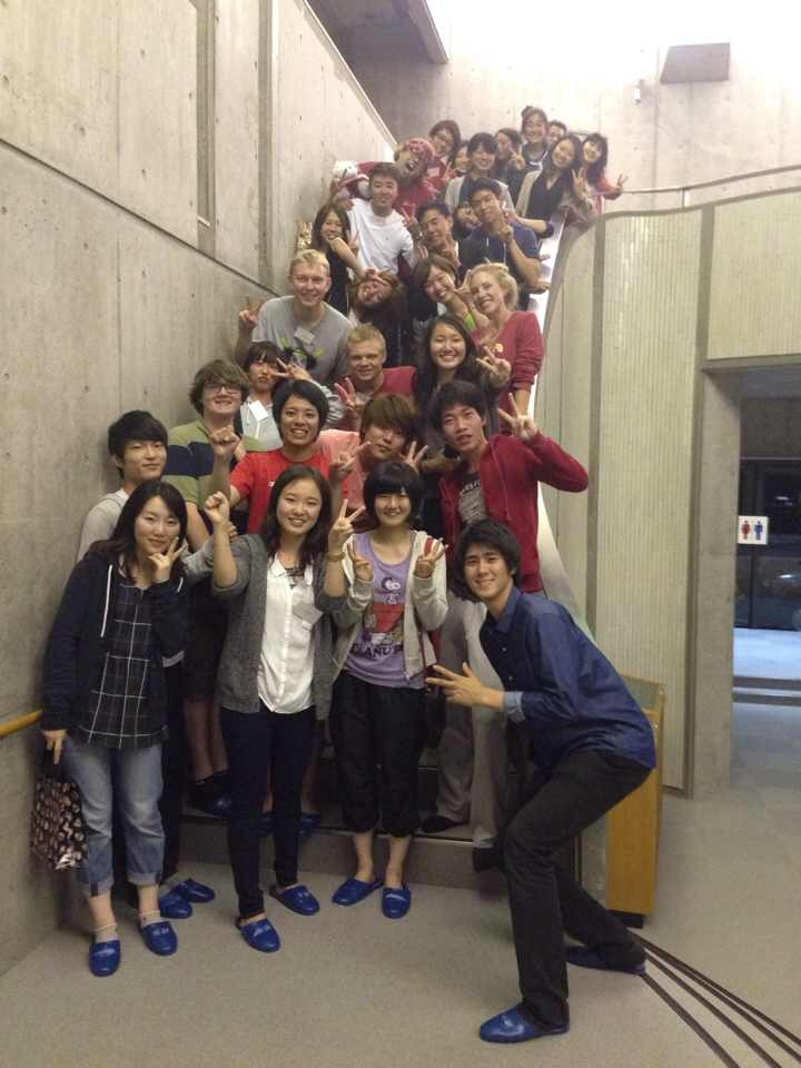 Group Photo at Yamanaka Seminar House