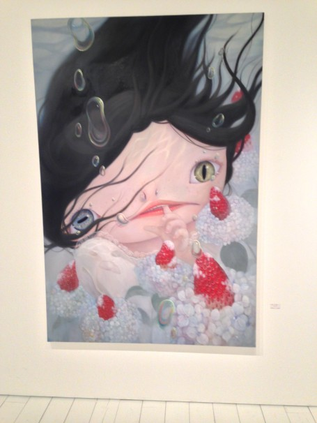 One of my favorite paintings by Haruna Tagawa.