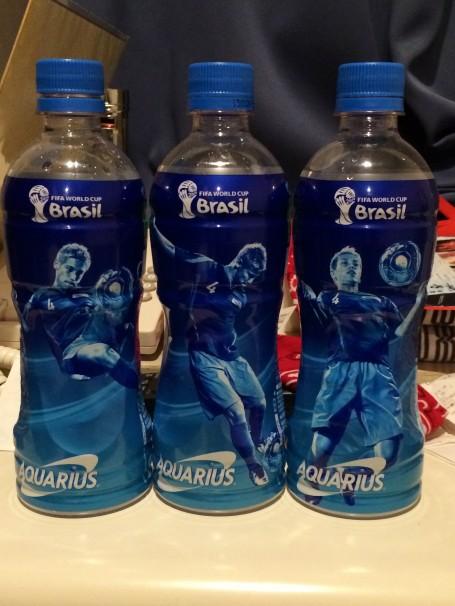 Aquarius water- three versions of Honda!