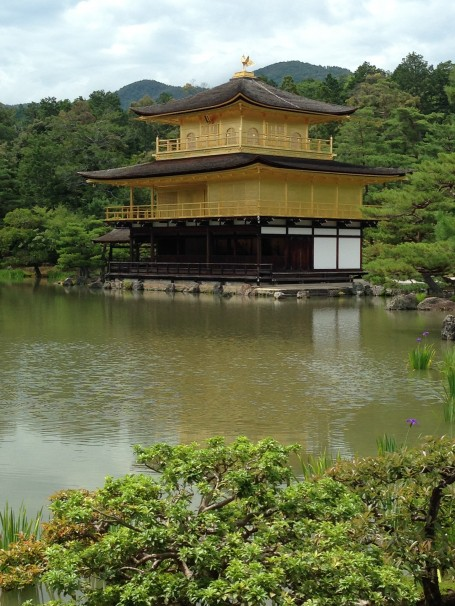 Golden Pavilion, a must see while in Kyoto!