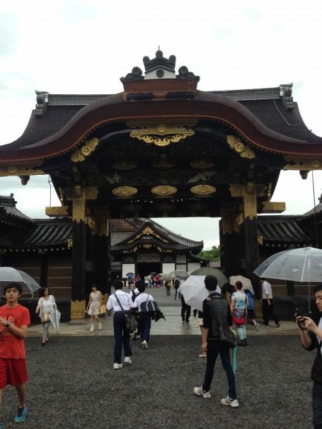 Entrance to Nijo Castle.