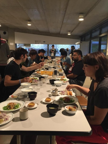 Dinner with USC and Meiji students.