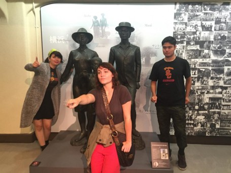 Japanese Immigration museum photo op