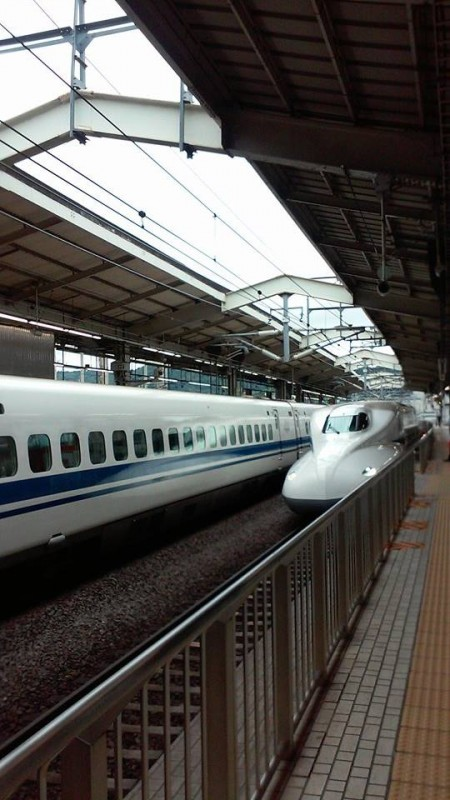Shinkansen (Bullet Train) to Kyoto