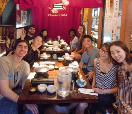 GEA Japan takes on chankonabe and wins!
