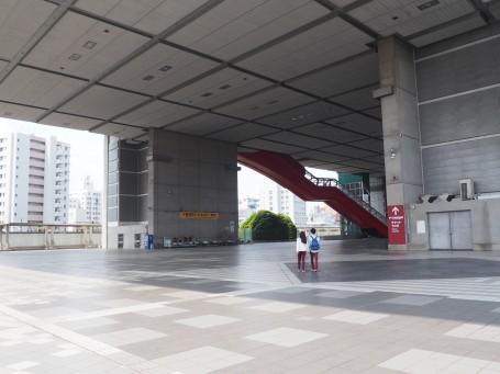 Underneath the Edo-Tokyo museum