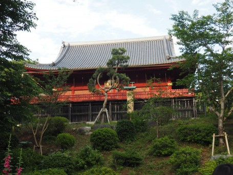 There is no shortage of temples in Ueno park