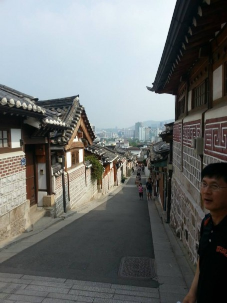 The streets of Bukchon