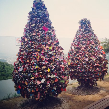 Love Lock Trees! One friendly advice for singles, don't come here at night!