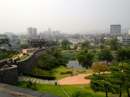 The gorgeous view from one of the lookout posts along the fortress walls.