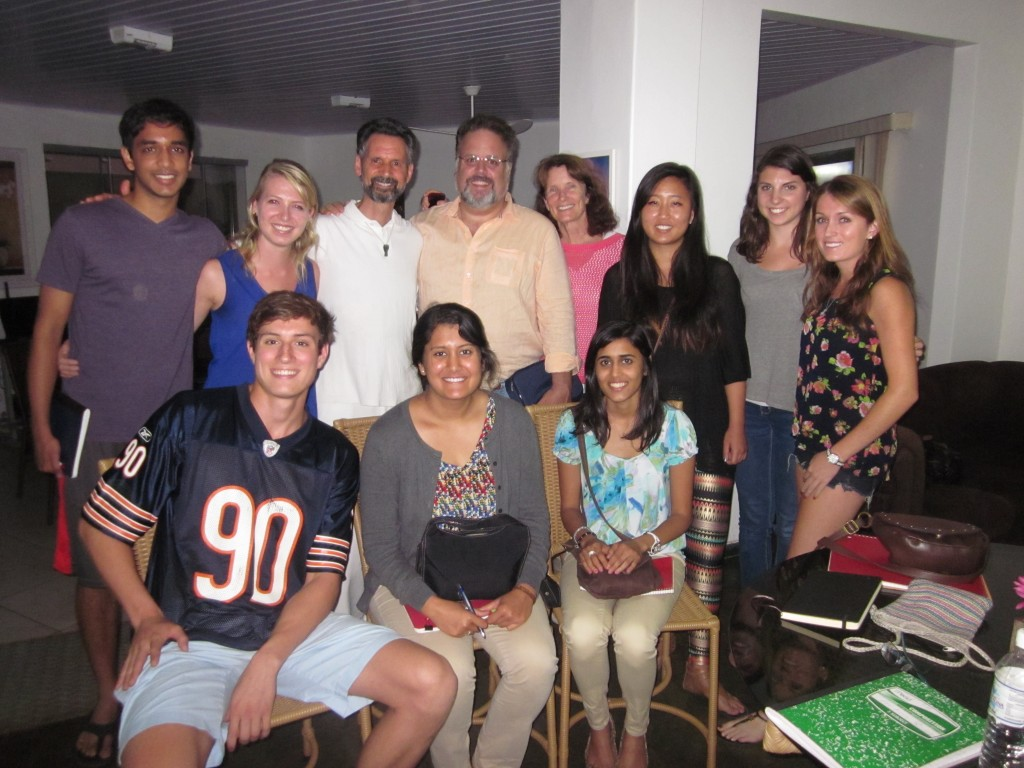 Brazil PWP group 2013, with Dr. Rick and Diego.  we were a very diverse group.