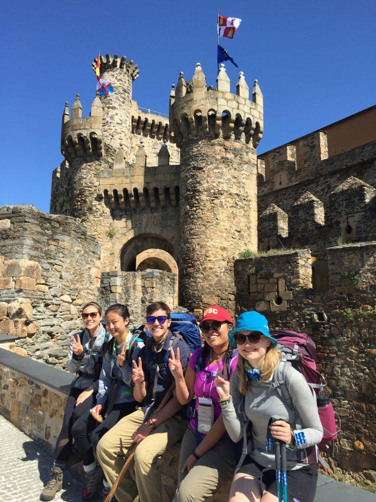 Templar Castle Ponferrada (Templars protected the pilgrims)