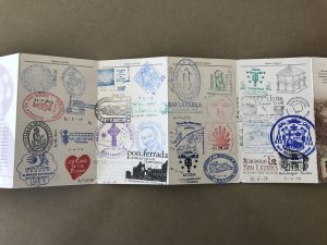 Author's Camino credential or passport