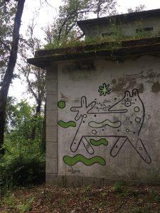 La Vida es Peregrina, above a ubiquitous image of this dog.